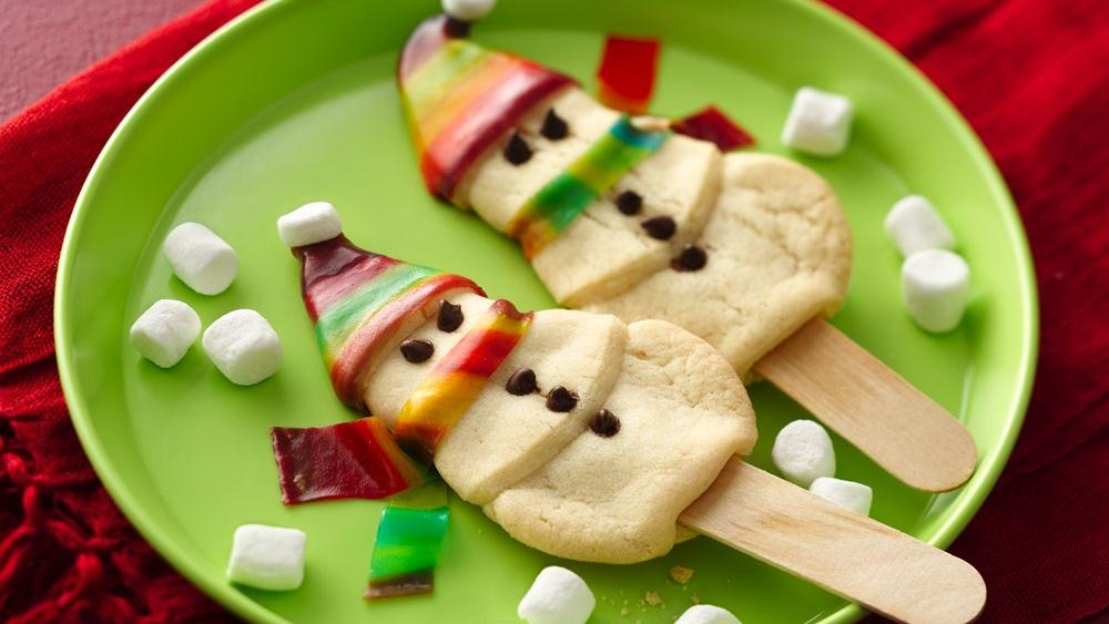 Stylish Snowman Cookies