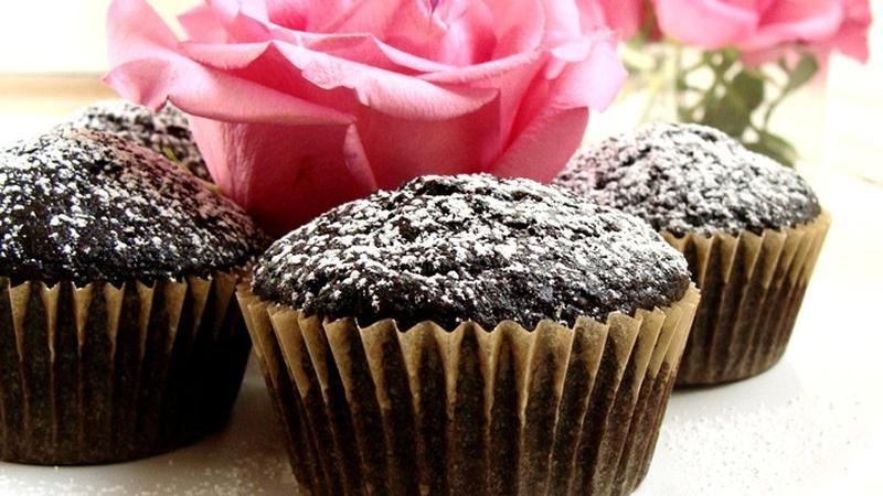 Chocolate Olive Oil Cupcakes