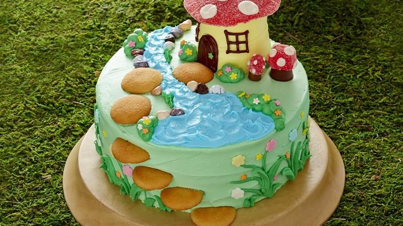Fairy Garden Cake recipe from Betty Crocker