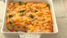 Vegetable and Ham Strata Recipe
