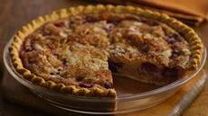 Fresh Berry Custard Pie Recipe