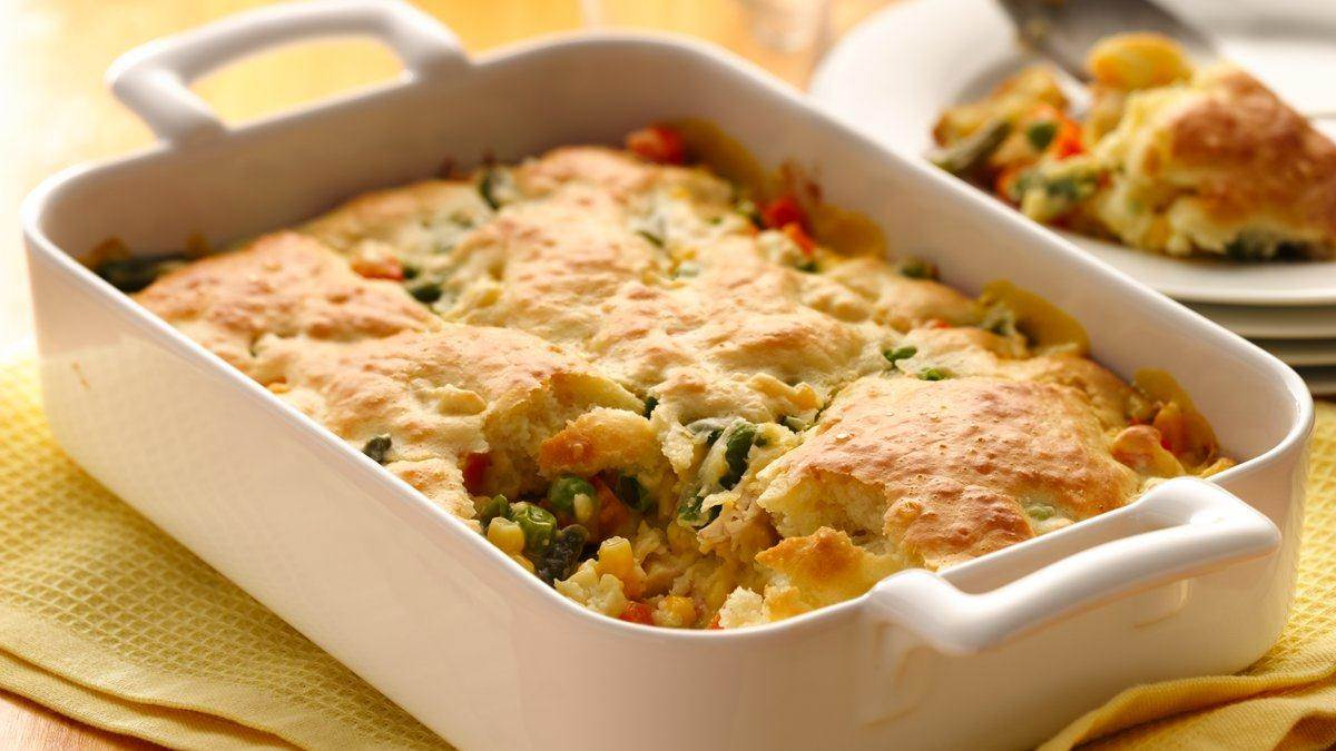 Bisquick Chicken Pot Pie Casserole