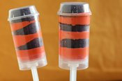 Halloween Push-It-Up Brownie Pops