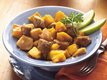 Slow Cooker Pork Sausage and Squash