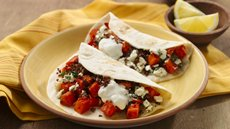 Middle Eastern Veggie Tacos Recipe