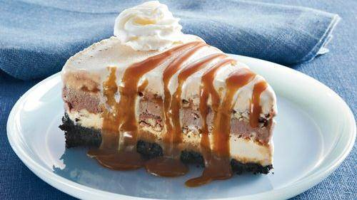 Neapolitan Ice Cream Pie recipe from Betty Crocker