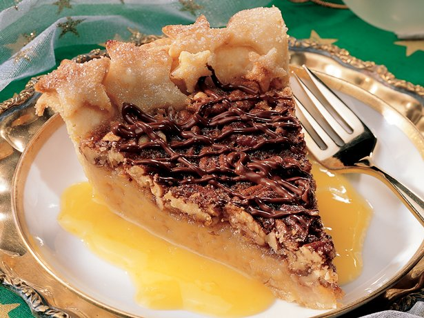 Orange-Pecan Pie
