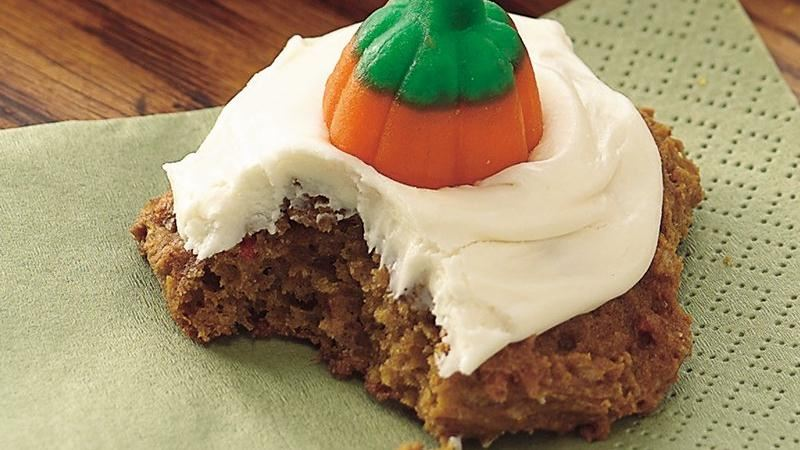 Cake Mix Carrot-Pumpkin Cookies