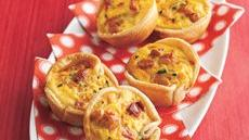 Spicy Mexican Quiche Cups Recipe