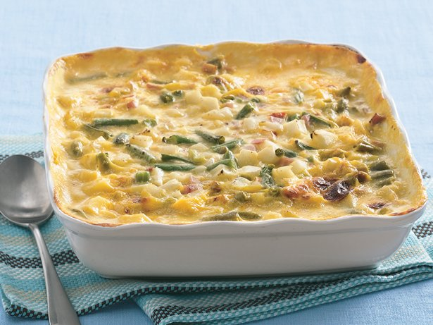Creamy Ham and Potato Casserole