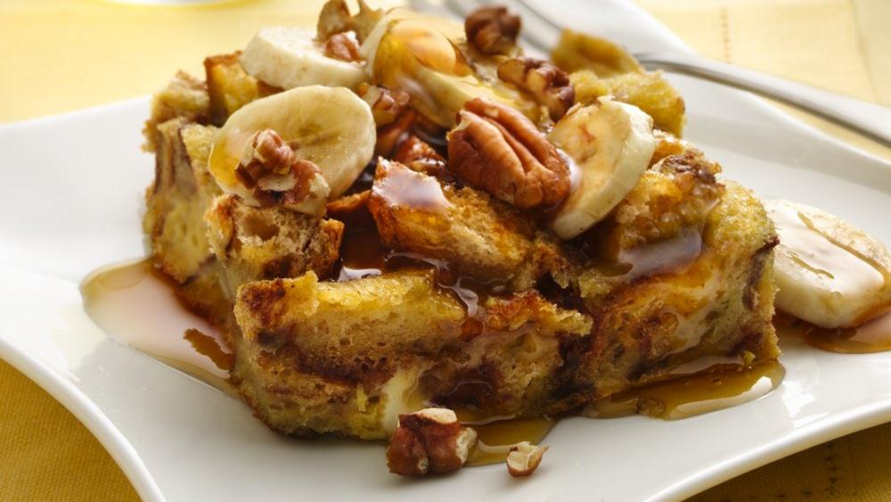 with bananas walnuts and cacao nibs bananas foster bananas foster pie ...