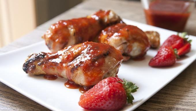 ... sauce grilled chicken with nectarine barbecue sauce recipes dishmaps