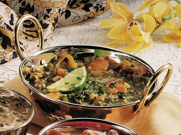 Multi-Lentil Persian Stew with Vegetables <I>(Dhansaak)</I>