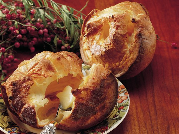 Garlicky Popovers