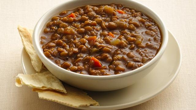 Slow Cooker Brown Lentil Soup