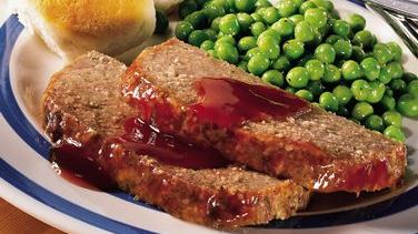 Home-Style Meat Loaf with Maple Glaze