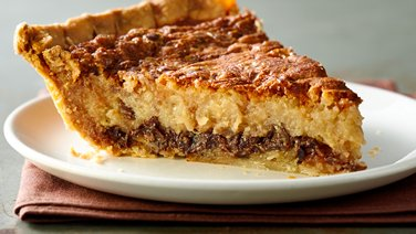 Chocolate and Coconut Pecan Custard Pie