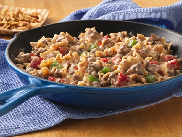 Zesty Beef Stroganoff