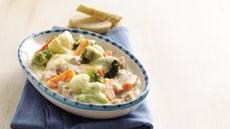 Ham and Vegetables au Gratin Recipe