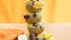 Small Batch Lemon Blueberry Muffins
