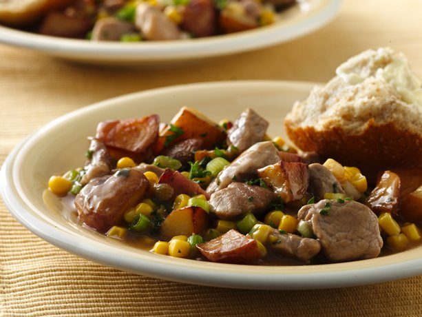 Pork and Corn Hash