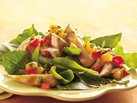Apricot Salsa Grilled Chicken Salad (Cooking for 2)