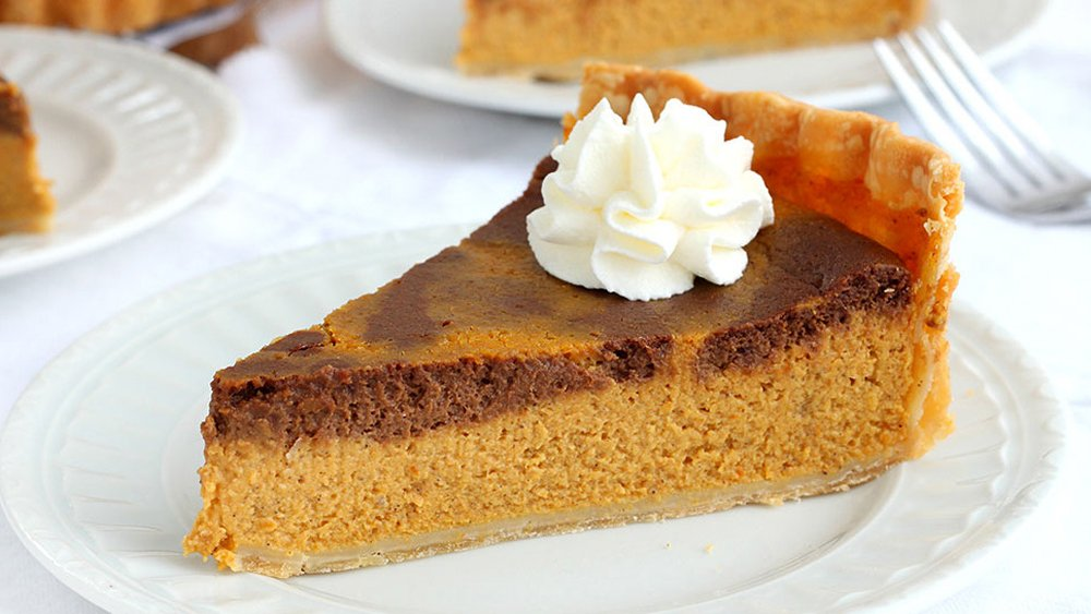 Chocolate-Pumpkin Pie recipe from Pillsbury.com