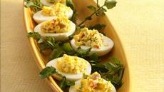 Deviled Eggs with a Kick Recipe
