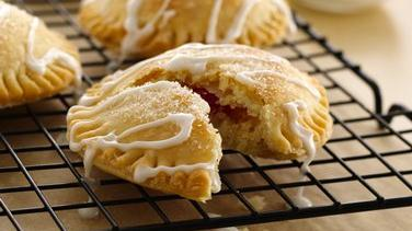 Strawberry Sugar Cookie-Stuffed Pies