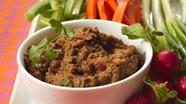 Black Bean Dip with Veggies
