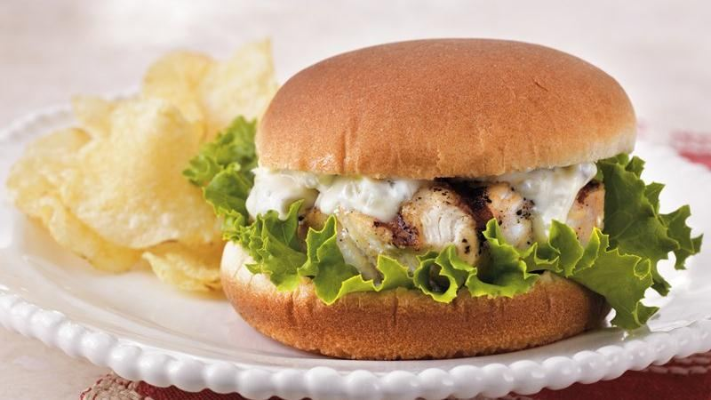 Grilled Grouper Sandwiches