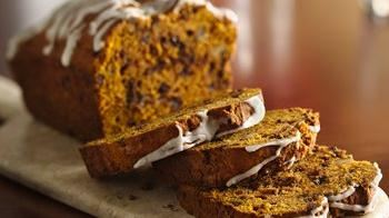 Pumpkin Chocolate Chip Bread