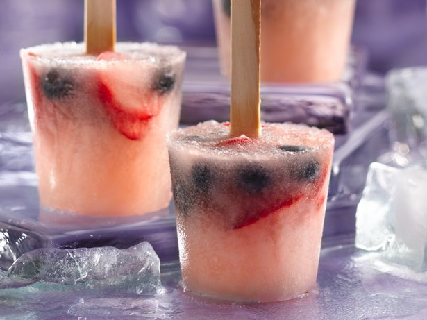 Berry White Sangria Pops