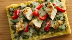 Tuscan Chicken Pizza  Recipe