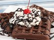 Cake Mix Waffles