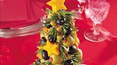 Cheese &amp; Olive Appetizer Tree Recipe