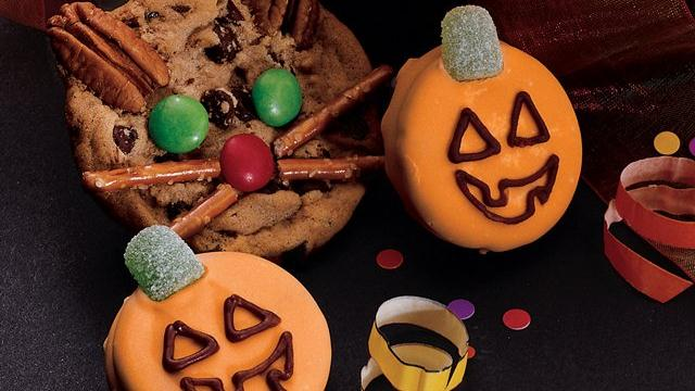 Jack-O'-Lantern Cookies