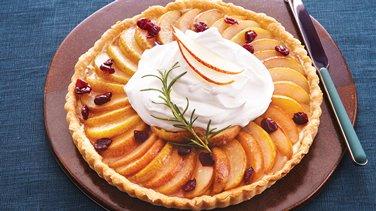 Pear Cranberry Tart
