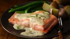 Lemon Garlic Dilled Salmon  Recipe