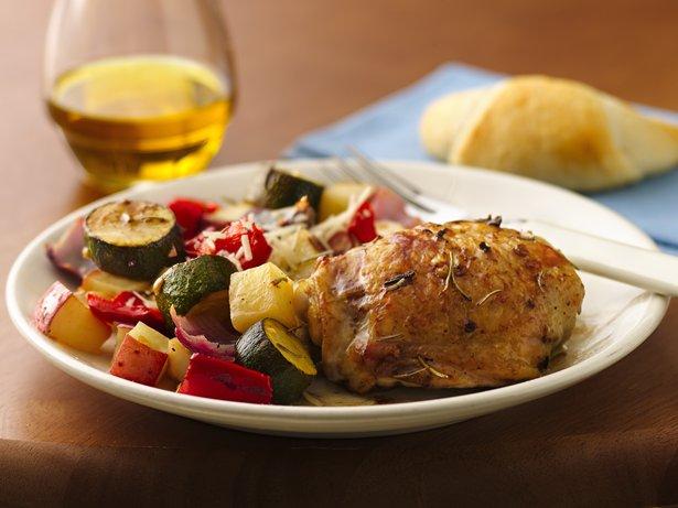 Mediterranean Chicken and Vegetables recipe from Betty Crocker