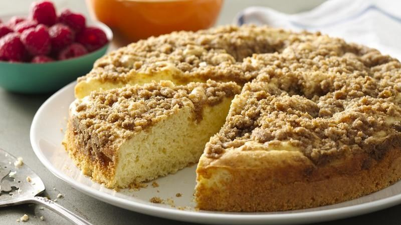 Streusel Coffee Cake recipe from Betty Crocker