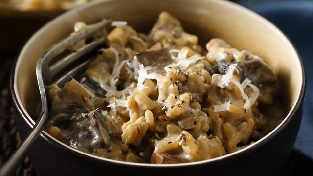 Creamy Mushroom Risotto