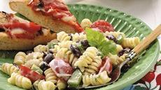 Creamy Pasta-Bean Salad Recipe