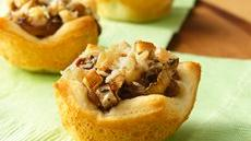 Caramelized Onion and Mushroom Tartlets Recipe