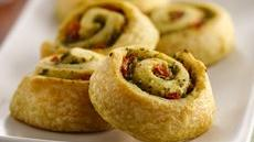 Easy Pesto Pinwheels Recipe