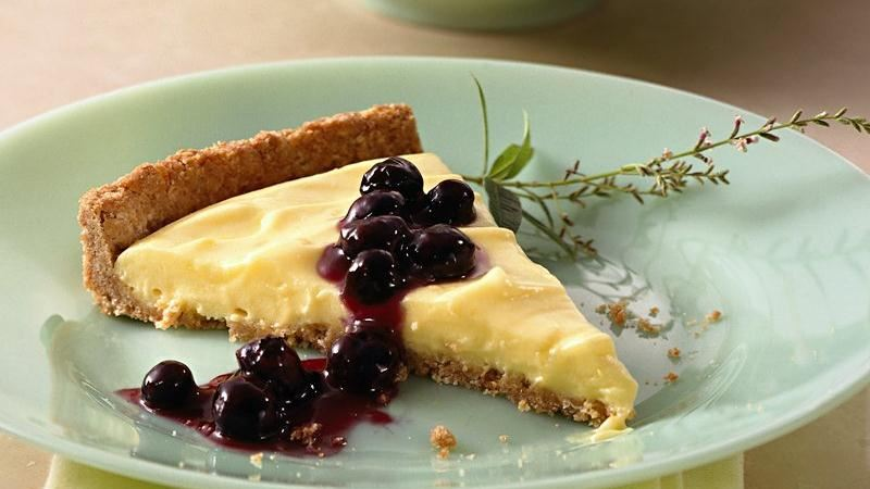 Blueberry-Lemon Tart