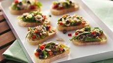 Tuna Salad Bruschetta Recipe