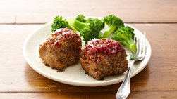 Impossibly Easy Mini Meat Loaves