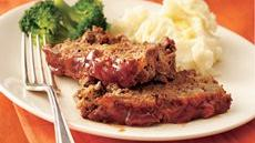 Maple-Glazed Meat Loaf  Recipe