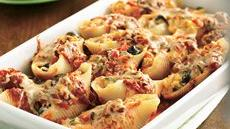 Cheese- and Vegetable-Stuffed Shells Recipe